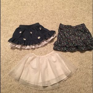 Other - Baby girl 3 size 4T/4 skirts